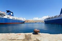 Keratsini port, Piraeus Obrazy Stock