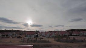 Kerava, Finland in de lente timelapse stock videobeelden