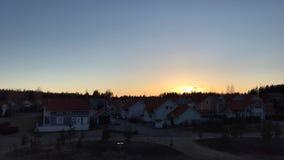 Kerava, Finlandia no timelapse da mola Imagem de Stock Royalty Free