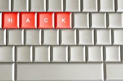 Kerbe buchstabiert auf einer Tastatur stockfotos