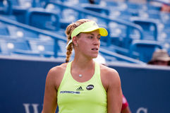 Kerber 006. Mason, Ohio - August 18, 2015:  Angelique Kerber at the Western and Southern Open in Mason, Ohio, on August 18, 2015 Royalty Free Stock Photography