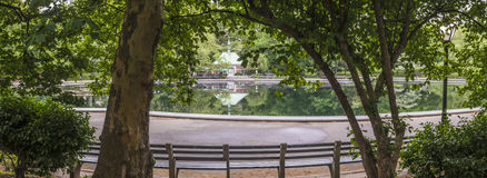 Kerbs boathouse Central Park, New York City Stock Image