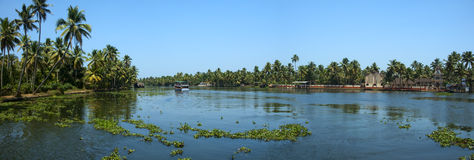 kerela rzeka Zdjęcia Stock