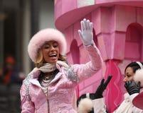Keri Hilson - desfile del día de la acción de gracias de Macy Foto de archivo libre de regalías