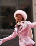 Keri Hilson - Macys Danksagungs-Tagesparade stockbild