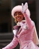 Keri Hilson - Macys Danksagungs-Tagesparade Lizenzfreie Stockfotografie