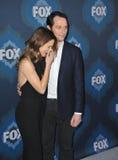 Keri Russell & Matthew Rhys. PASADENA, CA - JANUARY 17, 2015: Keri Russell & Matthew Rhys - stars of The Americans - at the Fox Winter TCA 2015 All-Star Stock Photography