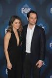 Keri Russell & Matthew Rhys. PASADENA, CA - JANUARY 17, 2015: Keri Russell & Matthew Rhys - stars of The Americans - at the Fox Winter TCA 2015 All-Star Royalty Free Stock Image