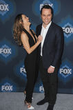 Keri Russell & Matthew Rhys. PASADENA, CA - JANUARY 17, 2015: Keri Russell & Matthew Rhys - stars of The Americans - at the Fox Winter TCA 2015 All-Star Stock Images