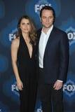Keri Russell & Matthew Rhys. PASADENA, CA - JANUARY 17, 2015: Keri Russell & Matthew Rhys - stars of The Americans - at the Fox Winter TCA 2015 All-Star Royalty Free Stock Images