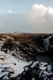 Kerid crater royalty free stock image
