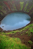 Kerid volcanic crater Stock Photos