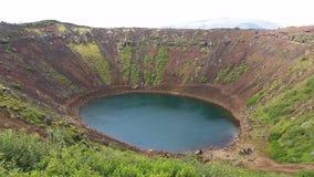 Kerid Volcano Iceland Royalty Free Stock Photography