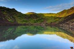 Kerid Volcano Stock Images