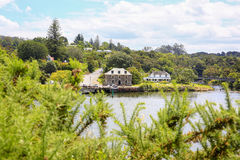 KERIKERI, NZ - JAN 10,2015: View of Stone Store in KeriKeri , Northland New Zealand. Royalty Free Stock Photos