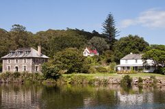Kerikeri Stone Store, Mission Station and Church Royalty Free Stock Photography