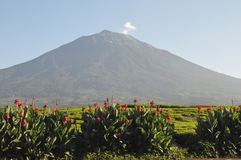 Kerinci wulkan Fotografia Stock