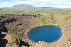 Kerio el cráter del volcán Fotos de archivo libres de regalías