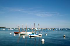 Kerity penmarch in brittany Stock Images