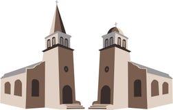 Kerk royalty-vrije illustratie
