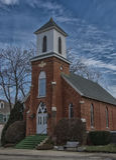 1876 kerk Stock Foto's
