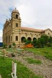 Kerk in aanbouw stock afbeeldingen