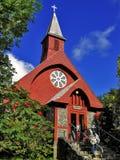 Kerk in Alaska stock fotografie