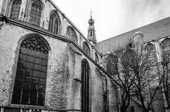 Kerk in Alkmaar, Nederland Royalty-vrije Stock Foto's