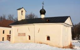 Kerk Andrew Stratilata van Novgorod het Kremlin stock afbeelding