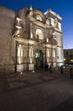 Kerk in Arequipa stock afbeeldingen