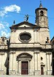 Kerk in Barcelona Stock Afbeeldingen