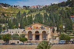 Kerk of Basiliek van de Ondraaglijke pijn stock foto