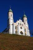 Kerk in Beieren Stock Afbeelding