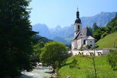 Kerk in Beieren, Duitsland stock afbeelding