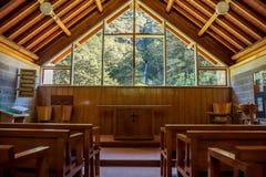 Kerk bij de Pas Nationaal Park van Arthur ` s, Nieuw Zeeland royalty-vrije stock fotografie