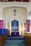 Kerk binnen Royalty-vrije Stock Fotografie