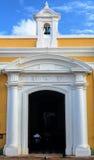 Kerk binnen Castillo San Felipe del Morro royalty-vrije stock foto