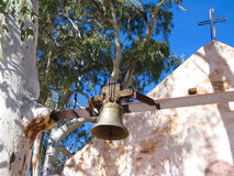 Kerk in binnenland Australië Royalty-vrije Stock Foto's