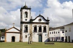 Kerk. Brazilië Royalty-vrije Stock Afbeeldingen