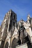 Kerk in Brussel Royalty-vrije Stock Foto's