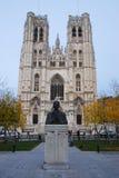 Kerk in Brussel Stock Afbeelding