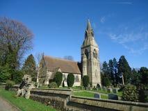 Kerk in bulmer Royalty-vrije Stock Afbeelding