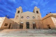 Kerk in Cafayate in Salta Argentinië. Royalty-vrije Stock Afbeeldingen