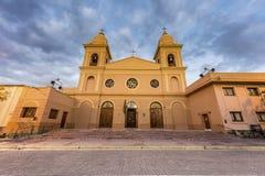 Kerk in Cafayate in Salta Argentinië. Stock Foto