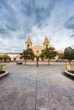 Kerk in Cafayate in Salta Argentinië. Stock Foto's