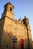 Kerk in Canarische Eilanden Royalty-vrije Stock Fotografie