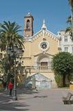 Kerk Cartagena Spanje Royalty-vrije Stock Fotografie