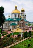 Kerk in Chortkiv de Oekraïne Stock Afbeelding