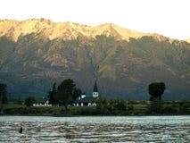 Kerk in de Andes Royalty-vrije Stock Afbeeldingen