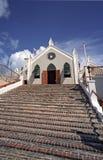 Kerk in de Bermudas Stock Foto's